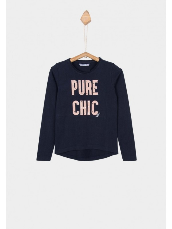 Camiseta niña pure chic