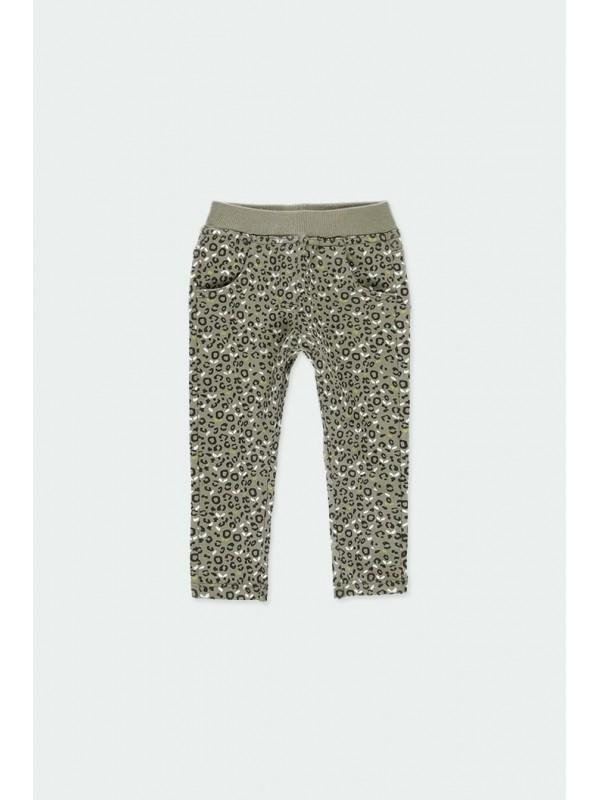 Pantalón felpa animal print...