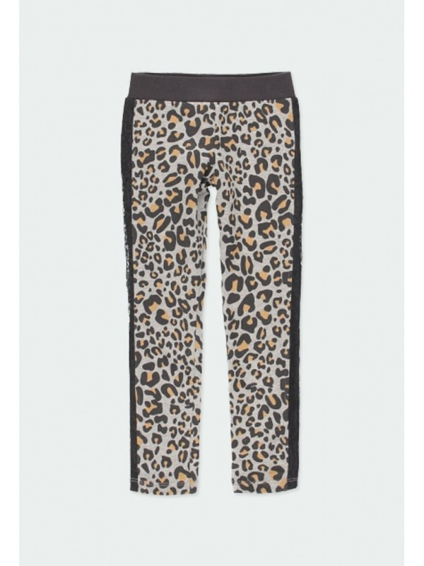 Leggings punto animal print...