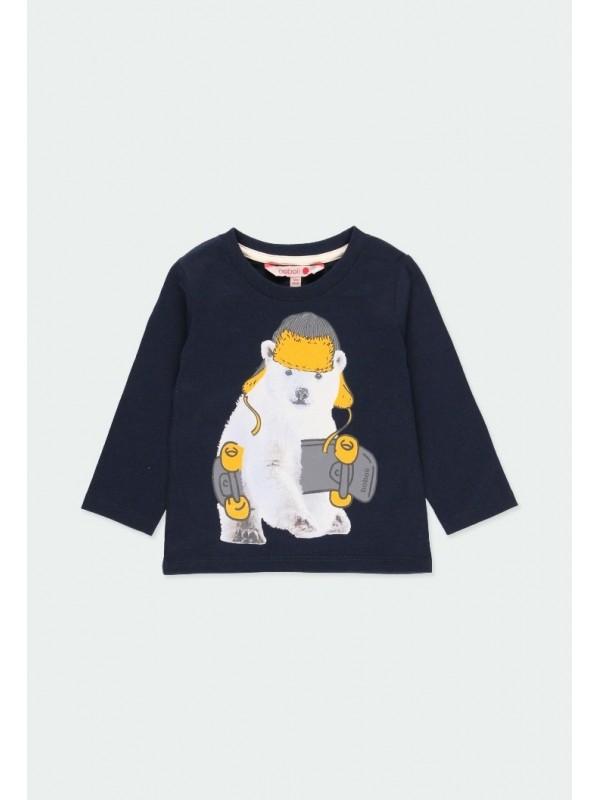 "Camiseta punto ""animales""..."