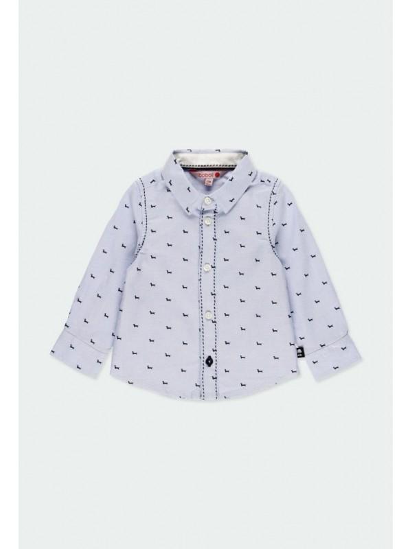 Camisa oxford manga larga de bebé niño