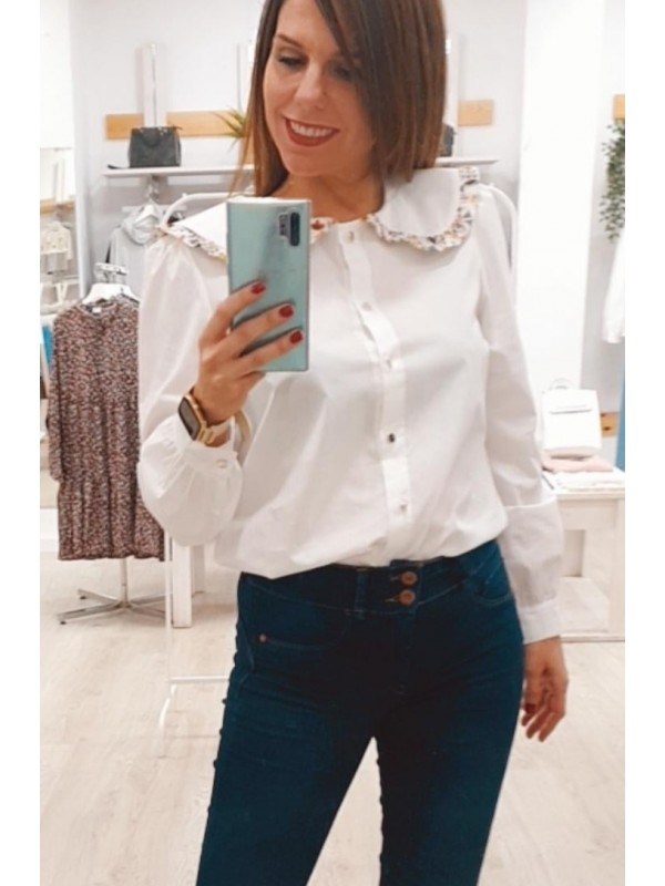 Blusa Country blanca