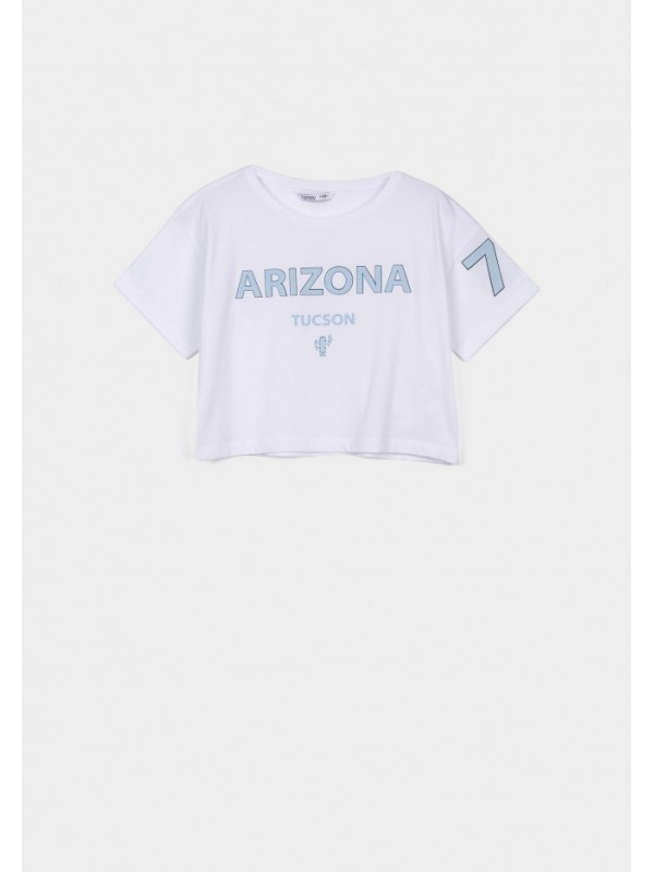 Camiseta Arizona blanca
